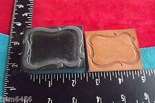 Leather Tools/* Vintage * Press Type Frame Design Stamp * (Sk 120)