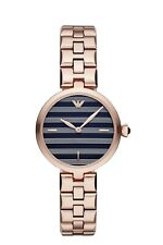 Emporio Armani Women's Rose Gold-Tone Stainless Steel Watch 32mm AR11220