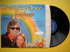 Peters & Lee - Rainbow, Philips 6308-208 Ex Condition Vinyl LP