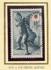 STAMP / TIMBRE FRANCE OBLITERE CROIX ROUGE N° 1049