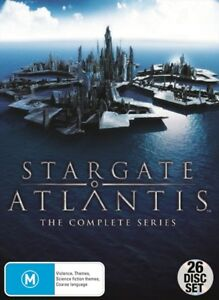 STARGATE ATLANTIS Complete Series SEASONS 1-5 New DVD Box Set Region 4 R4