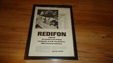 REDIFON flight simulators-1966 framed original advert