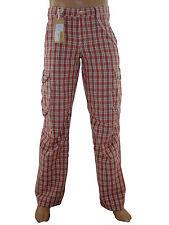 Pantalone uomo chino dritto rosso quadri GAUDI it 46 de 40 w 32