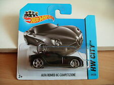 Hotwheels Alfa Romeo 8C Competizione in Black on Blister