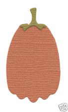 QuicKutz Lifestyle Crafts 2x2 Duo Die PUMPKIN -Tall, Harvert, Autumn, KS-0975