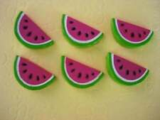 20 Summer Watermelon Resin Flatback Button/bead/bow/clay/embellishment/craft B64
