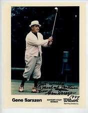 Gene Sarazen Golf Autographed Signed 8 x 10 Photo