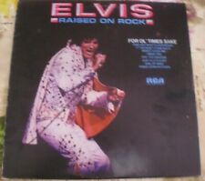 ELVIS PRESLEY RAISED ON ROCK RCA VICTOR ITALY PROMO WHITE LABEL LP 1981