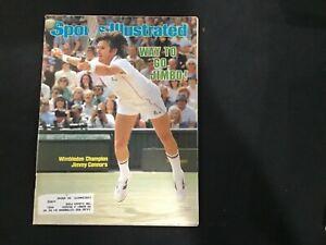 Sports Illustrated Magazine July 12, 1982 Wimbledon Champion Jimmy Connors