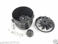 XRP-ChangeSun 70mm 10 Blades V3 Ducted Fan Unit 4mm Shaft for RC EDF Jets
