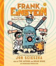 Frank Einstein: Frank Einstein and the BrainTurbo by Jon Scieszka (2015, CD,...