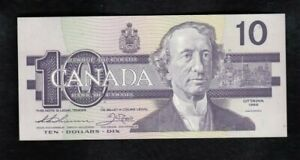 1989 Bank of Canada $10 Note - AEJ2244458