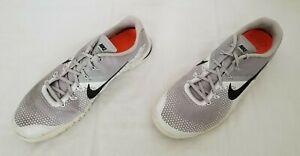 Men Sz 17 Grey Black Nike Metcon 4 Atmosphere Crossfit Training Shoes AH7453-005