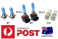 Holden VE Commodore SS Xenon Look Hi Lo White Headlight Globes/Bulbs 2006 2009