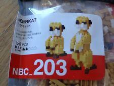 Meerkat Nanoblock Micro Sized Building Block Mini Brick Construction Toy NBC203