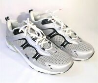 Fila Mens Running/Walking Shoes Sneaker Size 12 Gray/Silver/Black 1SR008LM-038