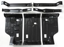 68-72 for GM A/G Body Trunk Floor Pan & Gas Tank & Body Brace / Support 7pc KIT