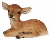 Fallow Deer - Laying Lifelike Garden Ornament - Indoor or Outdoor - Real Life