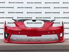 Seat Leon FR 2010-2012 pare choc avant en rouge véritable [O104]