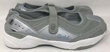 Tony Little Cheeks Silver White Slip On Incline Walking Tennis Shoe Sz 10 NEW!