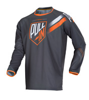 Maillot Motocross / BMX Pull-In Challenger Orange / Gris Taille M