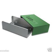 """SC853  8"""" DIY Electronic Metal & Aluminum Project Box Enclousure Case"""
