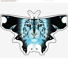 Butterfly Snow Leopard Sticker