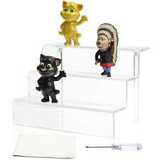 Niubee Acrylic Riser Stand Shelf for Amiibo Funko Pop Figure Display, 3 Steps