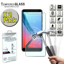 2 Pack Tempered Glass Screen Protector Cover For ZTE Blade V9