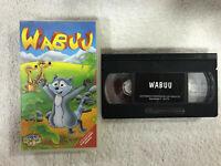 WABUU MAPACHE  VHS CINTA TAPE LOS DOS OSITOS ANIMADOS Y BLANCANIEVES CUENTOS