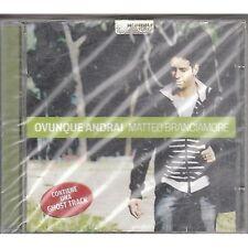 MATTEO BRANCIAMORE - Ovunque proteggi - CD 2009 SIGILLATO SEALED