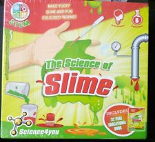 The SCIENCE Of SLIME - 8 Experiments KIT & 32 Page Book - NEW & SEALED
