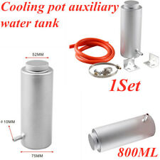 1Set Car modification 800ml aluminum alloy cooling pot auxiliary water tank
