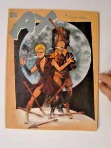 1988 Ax Graphic Novel Ernie Colon Art Marvel Comics FN