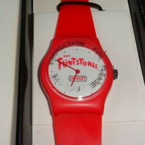 Fintstones SNES era Watch Nintendo Employee Store Display Promotional RARE