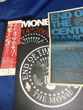 Ramones End of Century program & Flyer with Obi promotional for the movie
