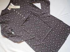 Triumph Nachthemd Sleepshirt dunkelgrau, Gr. 46, NEU, 1A-Ware, Knopfleiste