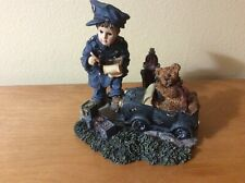 Boyd's Bears Dollstone Collection - Benjamin with Matthew The Speed Trap -#3524