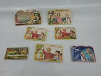 Lot Of 7 Vintage Needle Books Sewing Susan The Army and Navy book Sew and Stitch