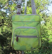 Consuela Chartreuse St Tropez Saddle Bag Crossbody Shoulder Purse