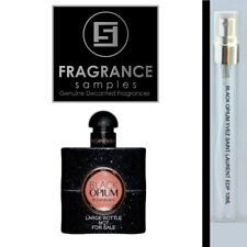 10ml Glass*Jumbo SAMPLE*180 sprays of Black Opium Yves Saint Laurent EDP Perfume