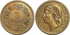 5 FRANCS LAVRILLIER BRONZE ALUMINIUM 1939 F.337