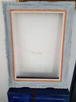 Cadre Blanc Montparnasse. Montparnasse frame  54x38