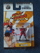 NANO METALFIGS Street Fighter M. Bison Capcom Figure 100% Die-Cast by Jada