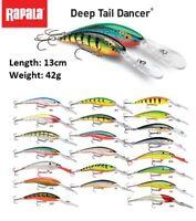 Rapala Deep Tail Dancer 13cm 42g Deep Dive 12 m Fishing Lure Various Colours