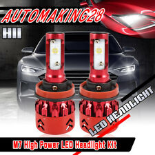 CREE CSP LED Headlight Bulbs High/Low Beam Fog Light H8 H9 H11 For Nissan Altima