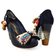 Irregular Choice Women's 100% Leather Court Heels for Women