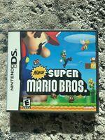 Nintendo DS New Super Mario Bros. 2006 Tested CIB - Manual, Game, Case