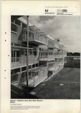 1964 Balcony Design Paediatric Block New Ulster Hospital Belfast F Gibberd