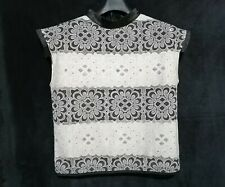 Lace capsleeve Top